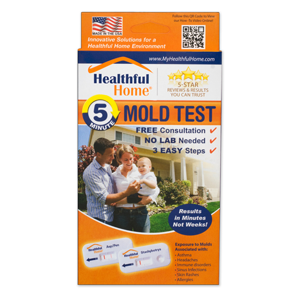 5-minute mold test from helpful home products