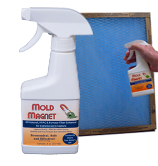 Cleaner Air Filter Spray