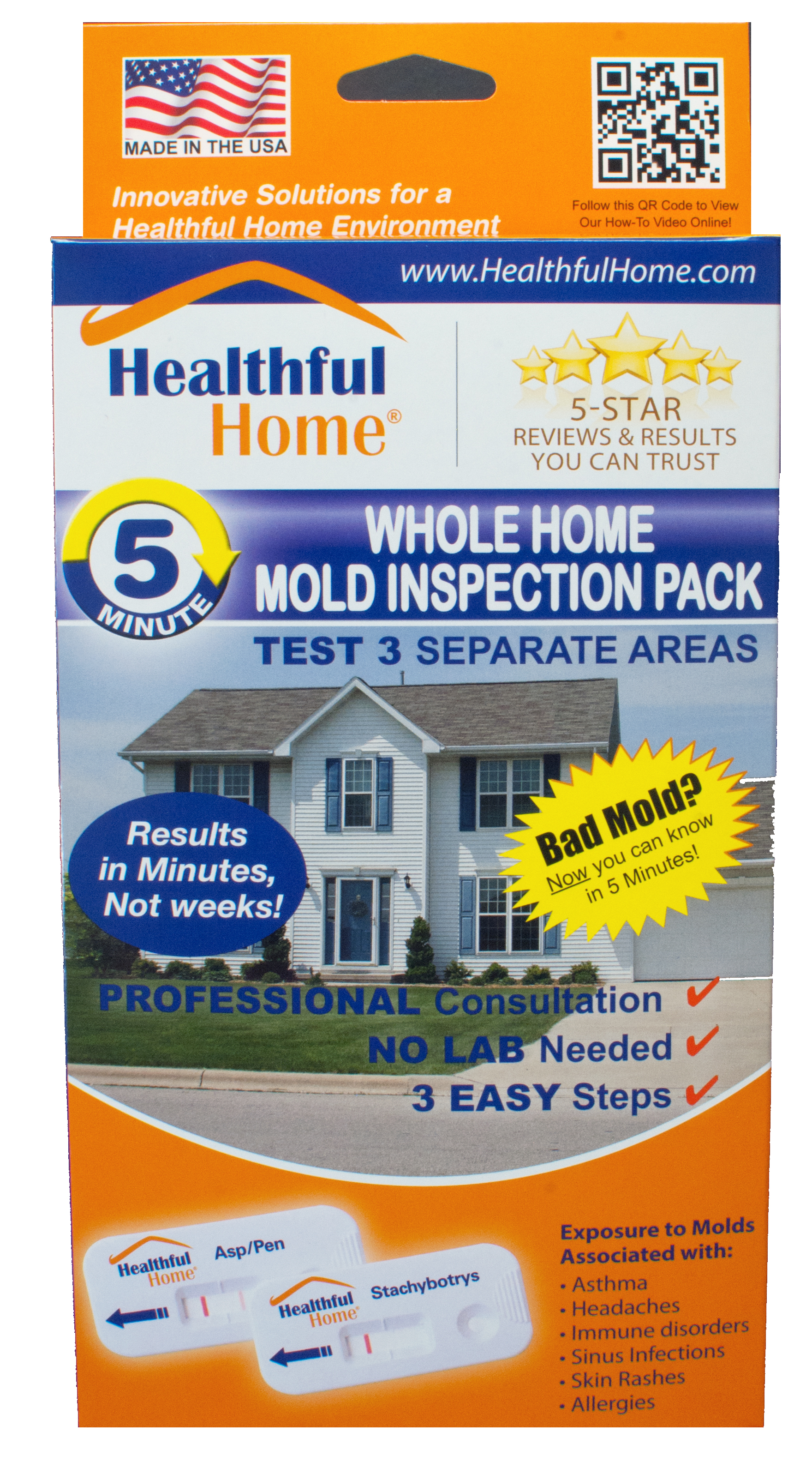 Whole Home 5 Minute Mold Inspection Pack