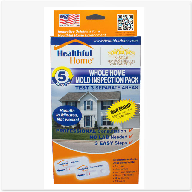 Whole Home Mold Inspection 3 Pack Test Kit For The