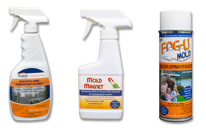 three great mold control cleaning products